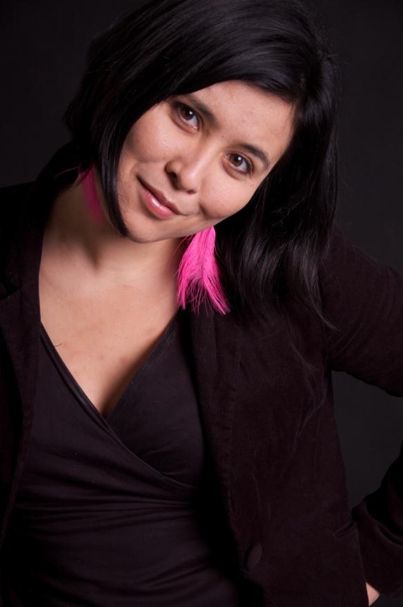 haruna_pink earrings